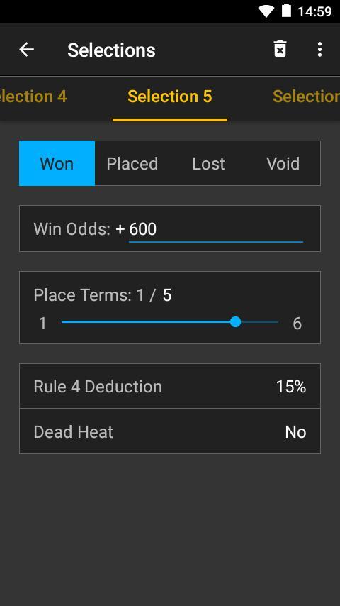Sports betting winnings calculator app melodifestivalen oddschecker betting