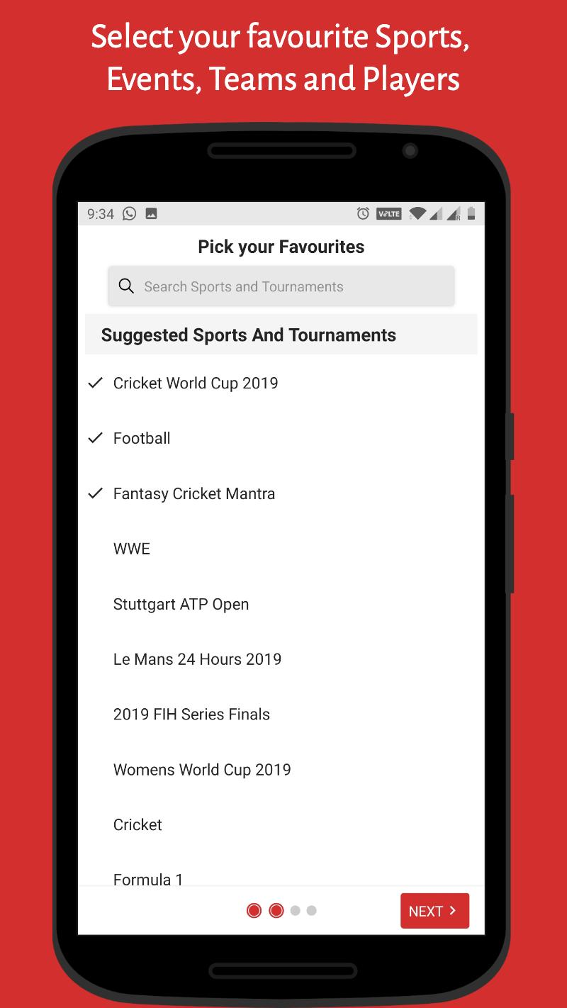 SK Sports App: Live Cricket Score, Football Scores for