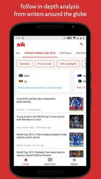 SK Sports App: Get Live Scores & Wrestling News screenshot 3