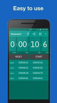 Stopwatch and Timer syot layar 3