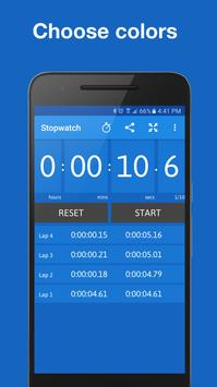 Stopwatch and Timer syot layar 4