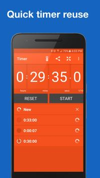 Stopwatch and Timer syot layar 6