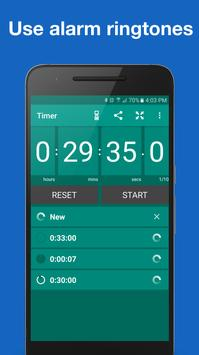 Stopwatch and Timer syot layar 7