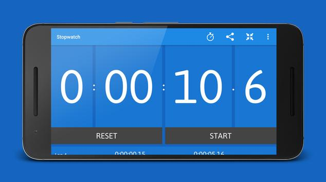 Stopwatch and Timer syot layar 8