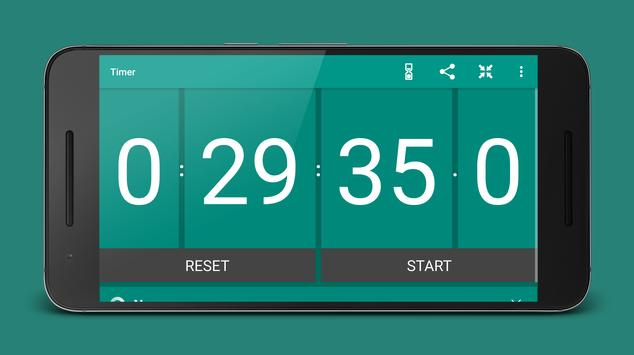Stopwatch and Timer syot layar 9