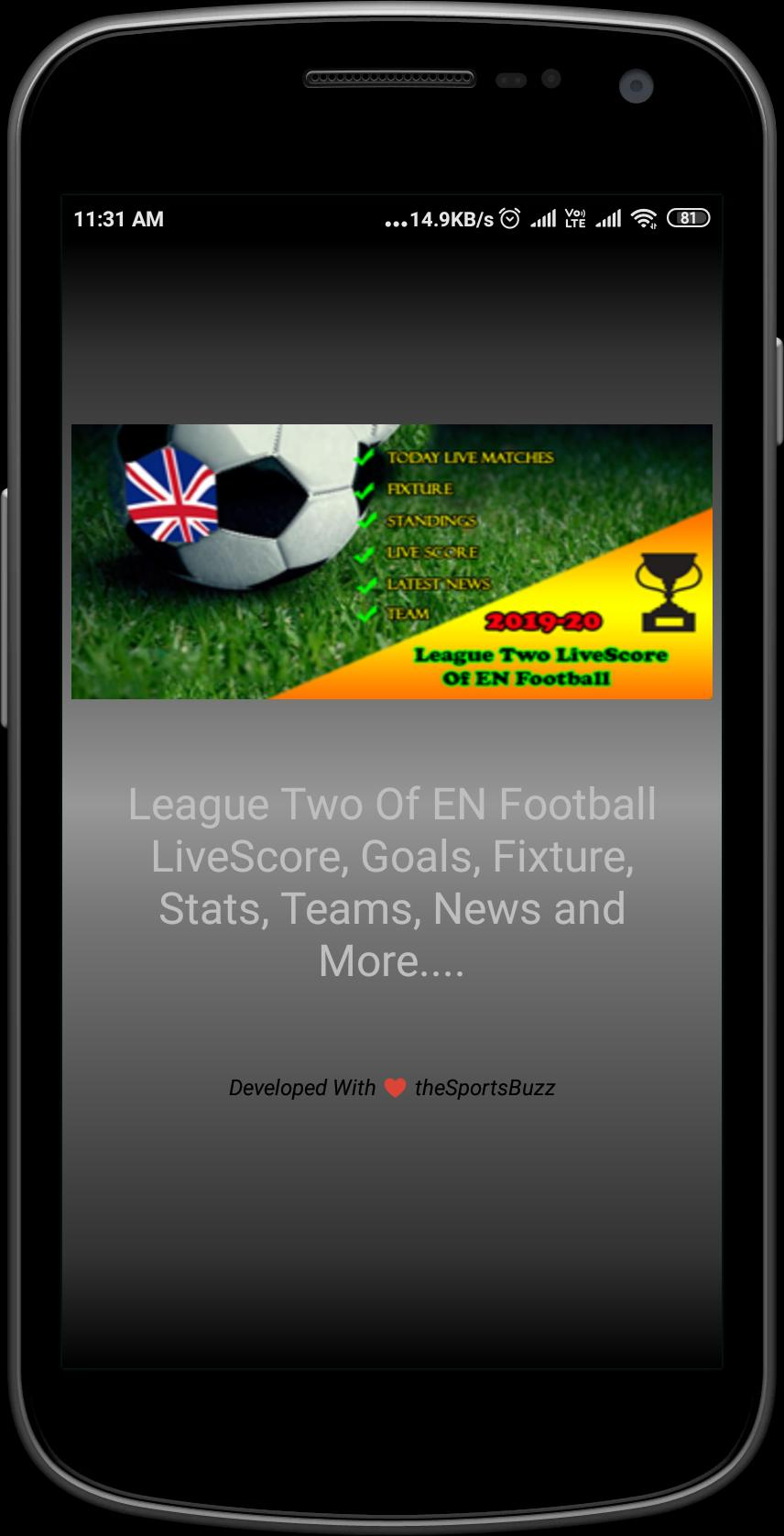League Two Of En Football 2019 20 Live Score For Android