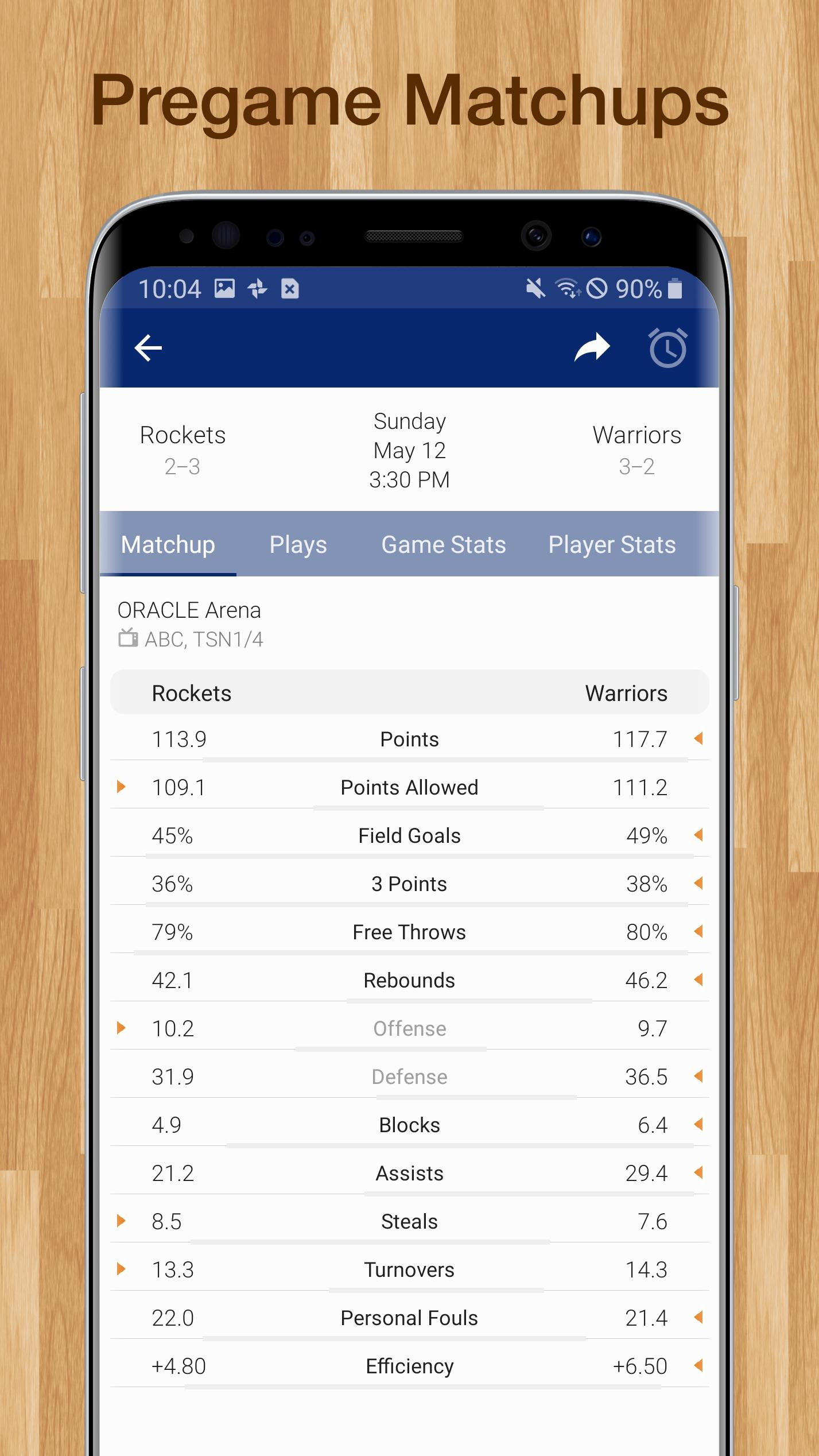 Basketball NBA Live Scores, Stats, & Schedules for Android   APK ...