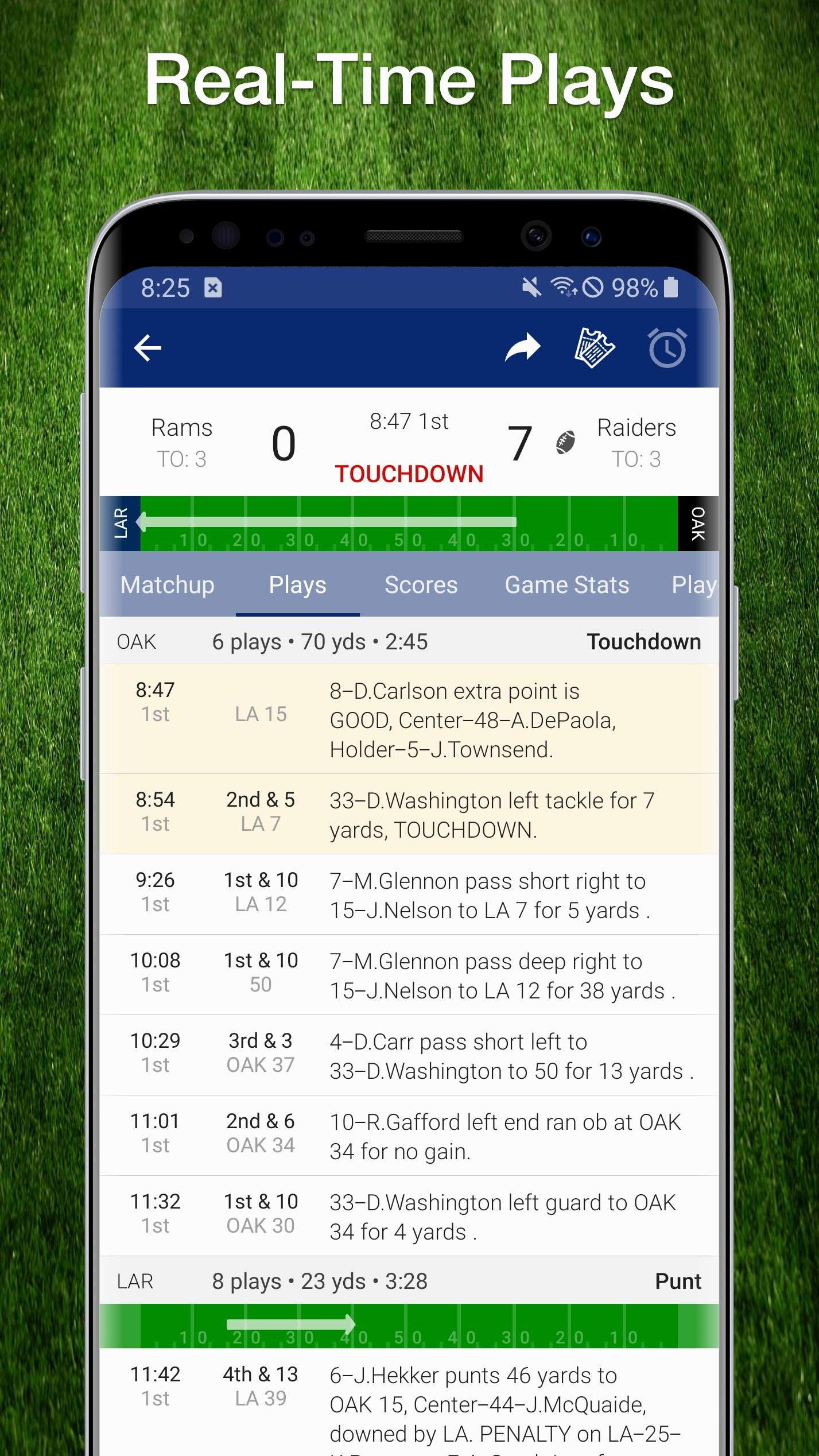 Football Nfl Live Scores Stats Schedules 2020 For Android Apk Download