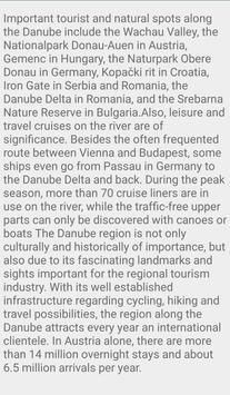 Beautiful Danube River In Europe screenshot 6
