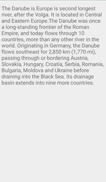Beautiful Danube River In Europe screenshot 1