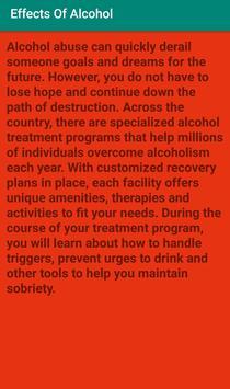 Effects Of Alcohol screenshot 5