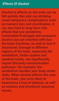 Effects Of Alcohol screenshot 1