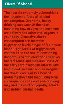 Effects Of Alcohol screenshot 2