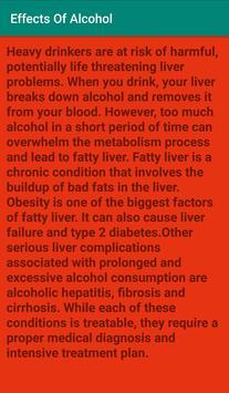 Effects Of Alcohol screenshot 3