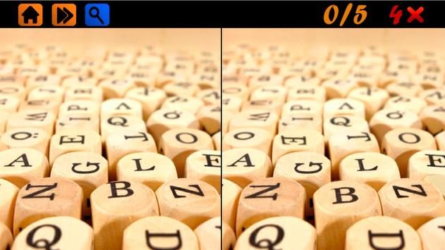 Spot the Differences 100 levels Hard screenshot 1