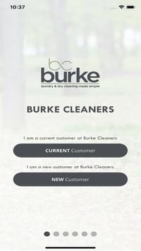 Burke Cleaners poster