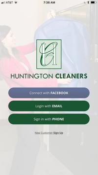 Huntington Cleaners poster