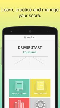 Permit Test Louisiana LA OMV Driver's License Ed poster