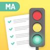Permit Test Massachusetts MA RMV  Driver's test Ed ikona