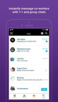 Groupe.io - Secure employee communication screenshot 1