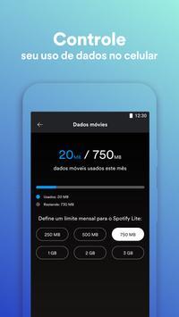 Spotify Lite imagem de tela 1