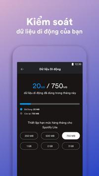 Spotify Lite ảnh chụp màn hình 1
