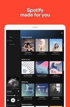 Spotify syot layar 8