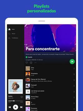 Spotify captura de pantalla 10