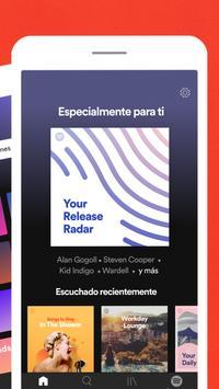 Spotify captura de pantalla 2