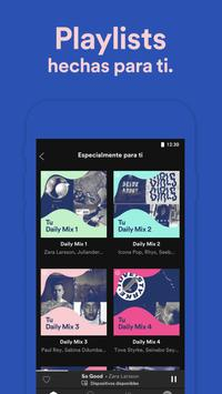 Spotify captura de pantalla 5