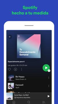 Spotify captura de pantalla 5