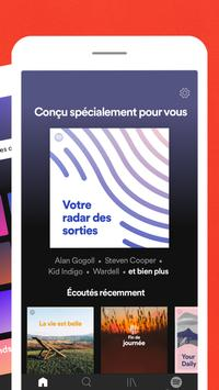 Spotify capture d'écran 2