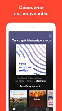 Spotify capture d'écran 5