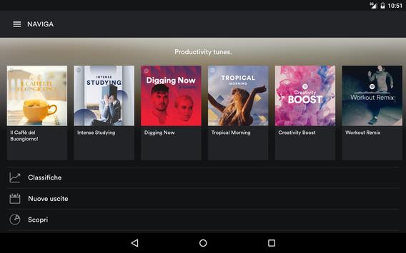 11 Schermata Spotify