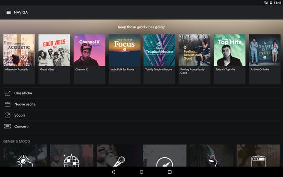 8 Schermata Spotify