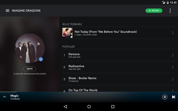 Spotify screenshot 10