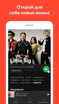 Spotify скриншот 3