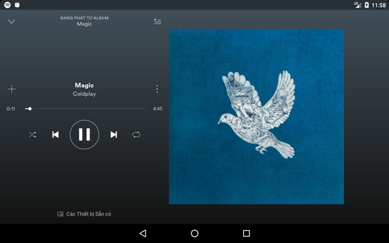 Spotify ảnh chụp màn hình 11