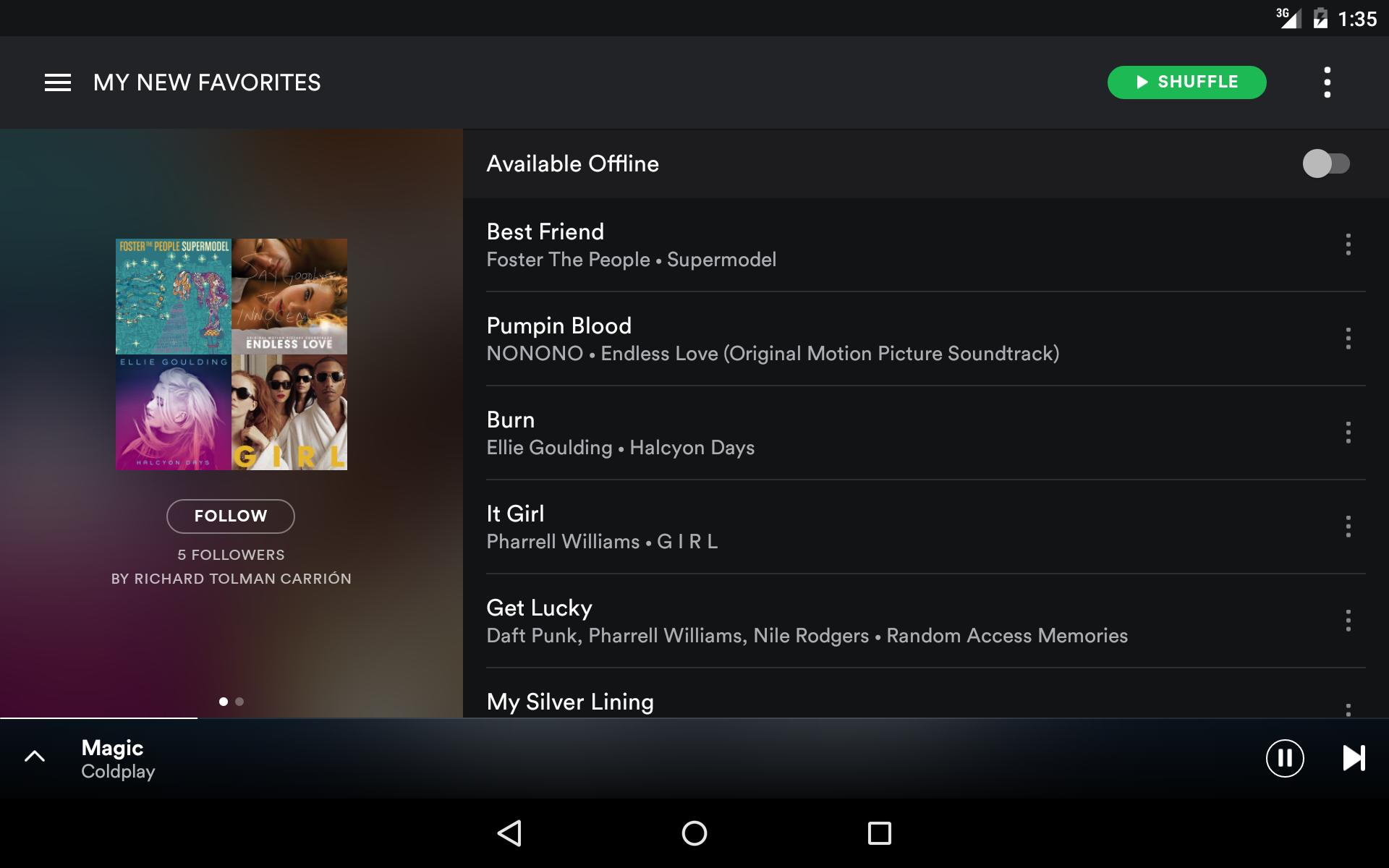 Spotify download app for Android - eenternet