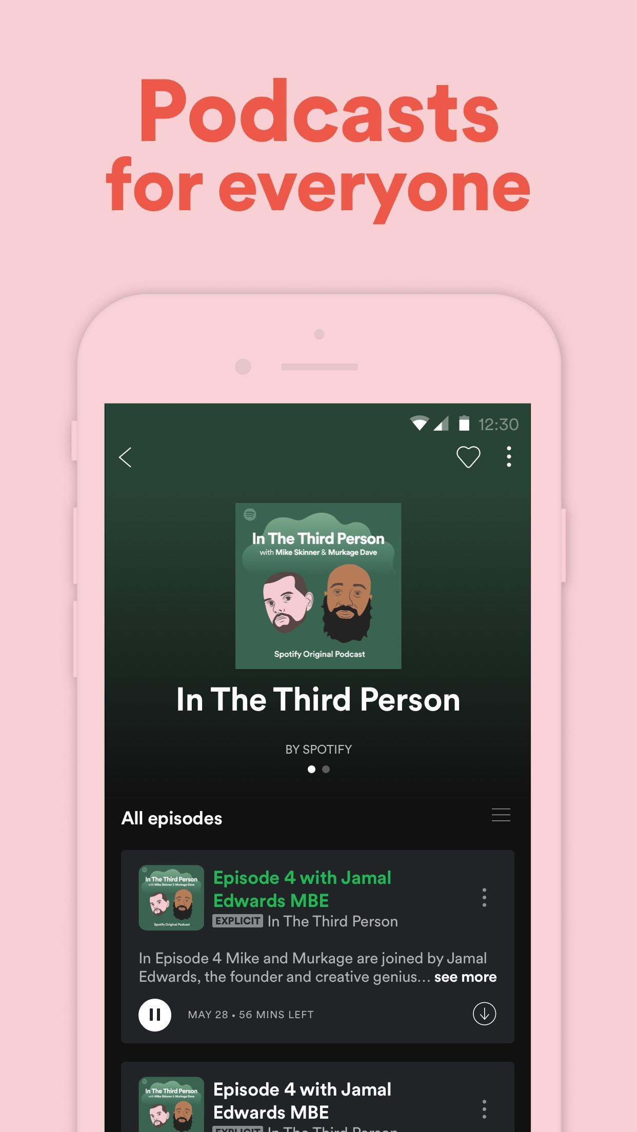 Spotify app for Android download 2019