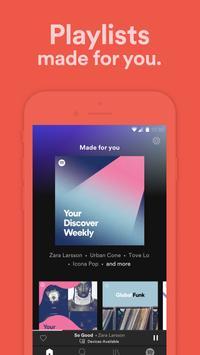 Spotify captura de pantalla 4