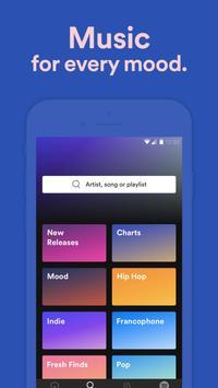 Spotify capture d'écran 5