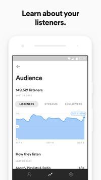 2 Schermata Spotify for Artists