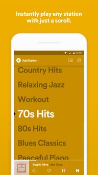 Spotify Stations: Streaming radio & music stations Affiche