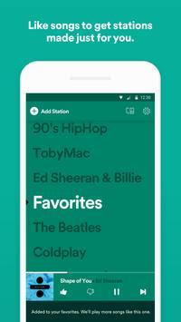 Spotify Stations: Streaming music radio stations screenshot 2