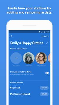 Spotify Stations: Streaming radio & music stations capture d'écran 4