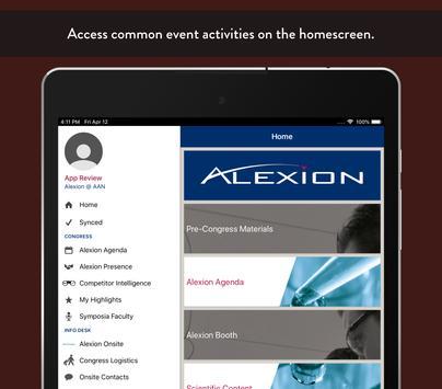 Alexion Congress screenshot 5