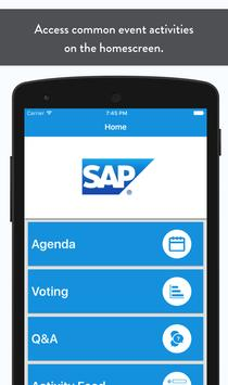 SAP Event screenshot 1