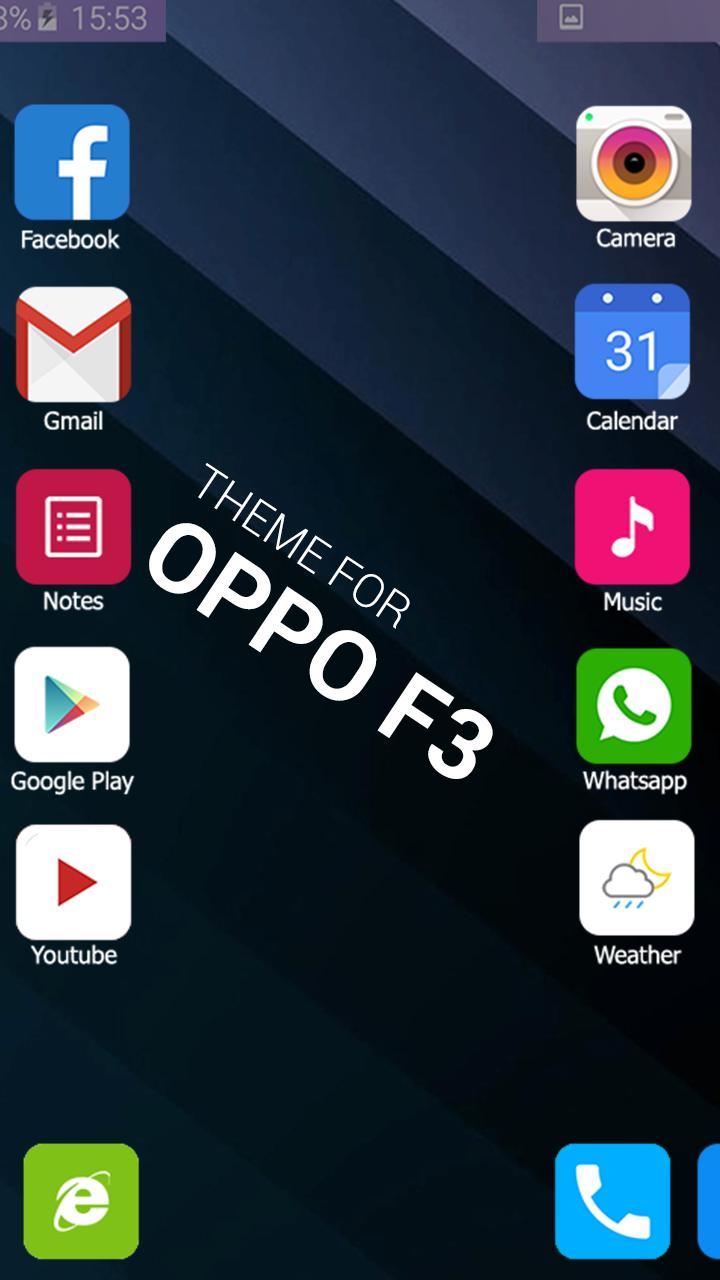 Theme For Oppo F3 Plus Selfie Expert Hd Wallpaper For
