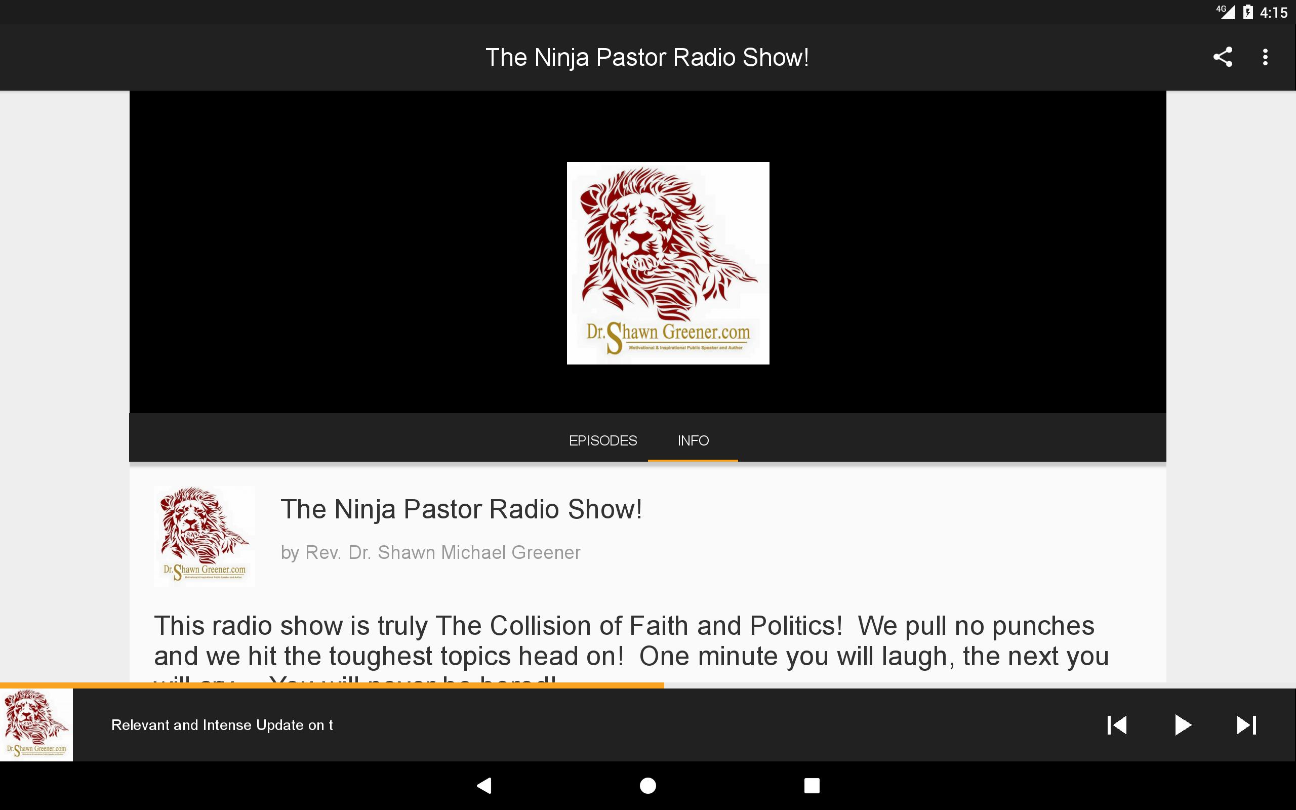 The Ninja Pastor Radio Show For Android Apk Download